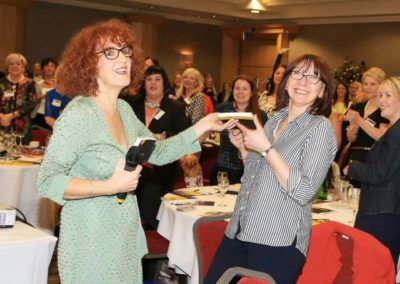 Woman in Business NI Conference Positive Prize winner