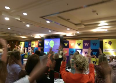 Presenter at Women In Business Conference