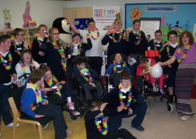 Positive Parties at Knockavoe School